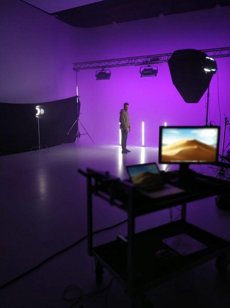 WORD produziert neue Single unsterblich befreit im Studio
