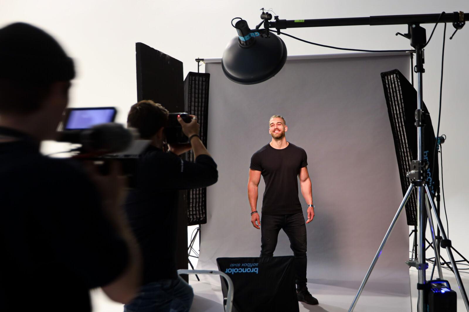 Mischa Janiec und Crew - Portraitshooting